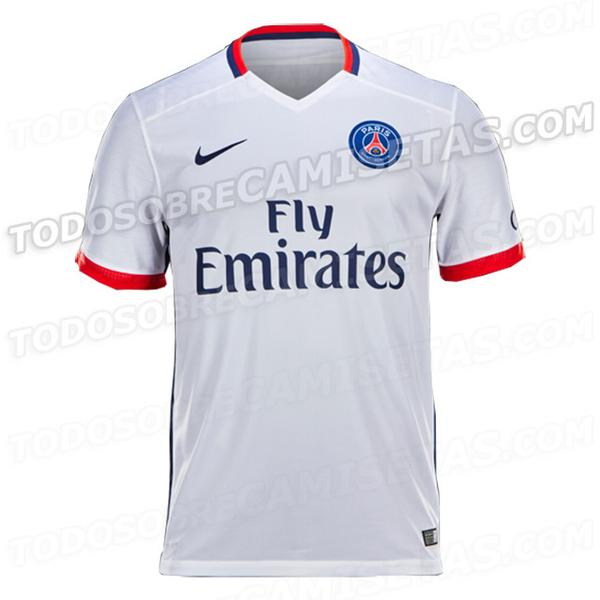 Maillot psg exterieur 2015 2016 maillots for Maillot rennes exterieur