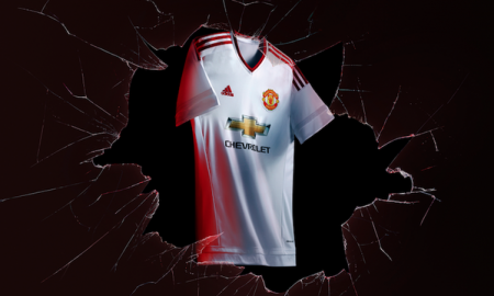 maillot extérieur Manchester United 2015 / 2016