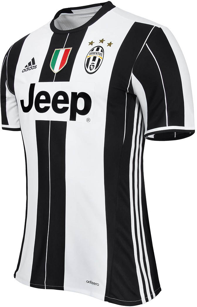 le maillot domicile de la juventus 2016 17 entre en sc ne. Black Bedroom Furniture Sets. Home Design Ideas