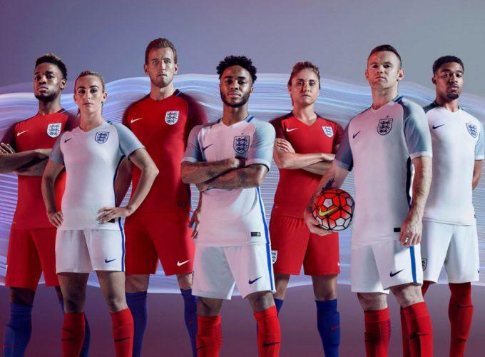 Nike présente le nouveau maillot Three Lions
