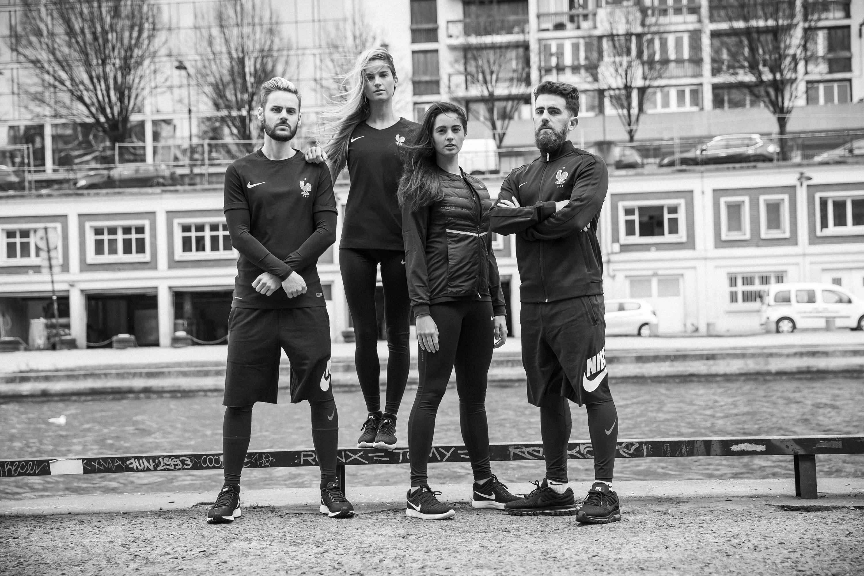 new product 8c4a7 9726f ... performance noir siglé FFF. Une gamme de produits complète, inspirée de  la street culture, qui se veut plus facile à porter dans la vie quotidienne  par ...