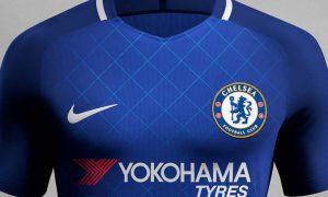 maillots Nike de Chelsea 2017-18