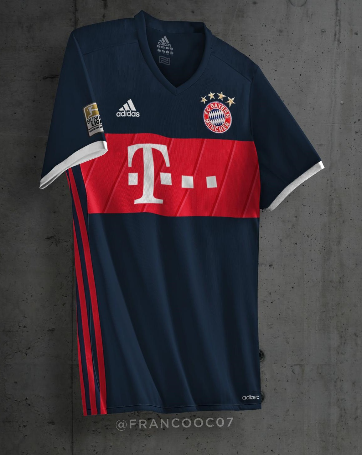 les maillots extérieur du Bayern Munich 2018