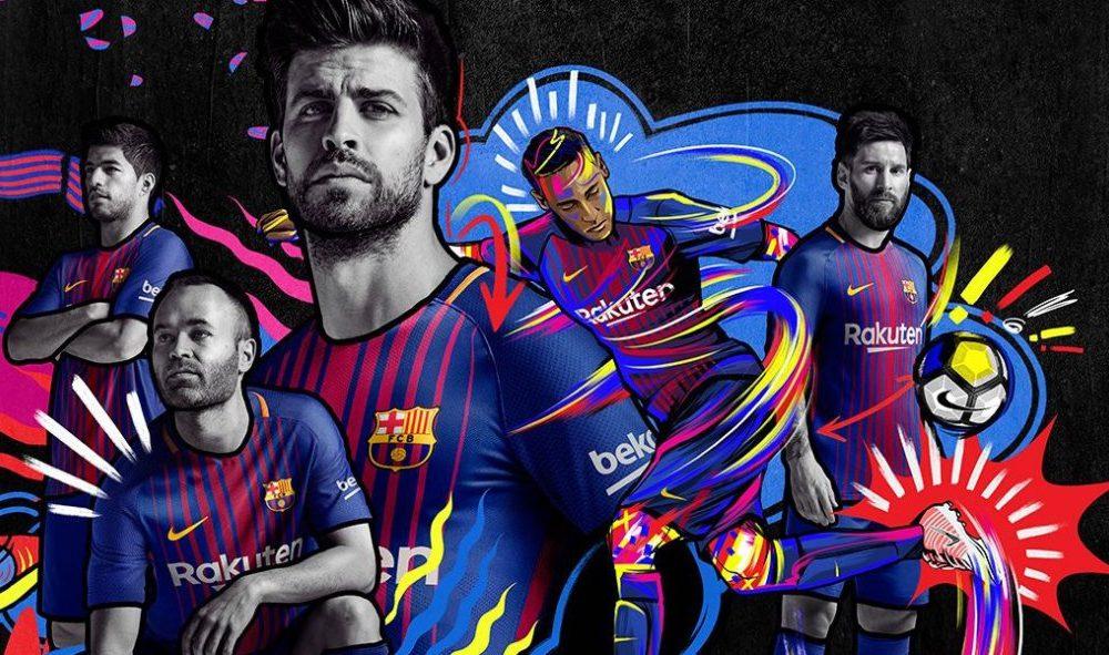 Nike dévoile le nouveau maillot domicile du FC Barcelone