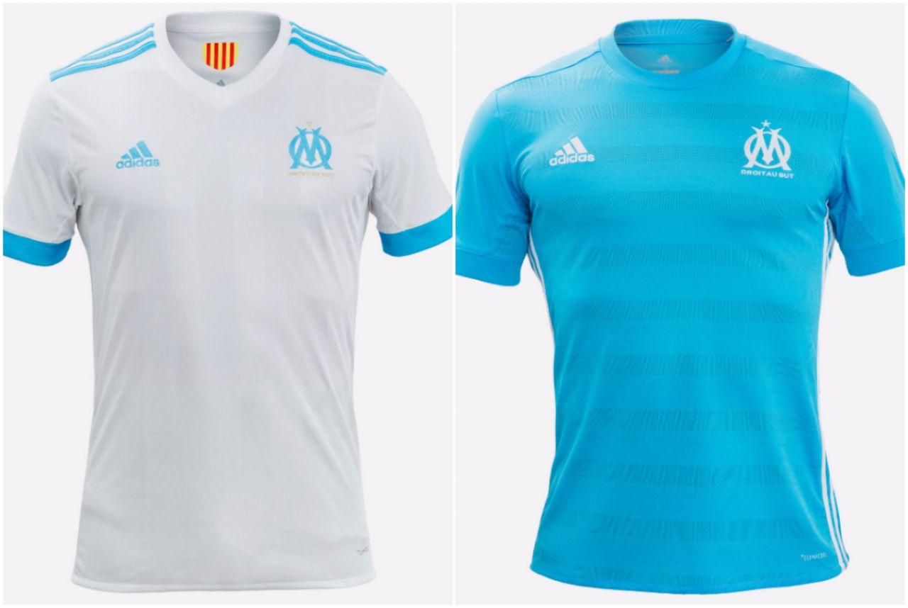 tenue de foot Olympique de Marseille 2018